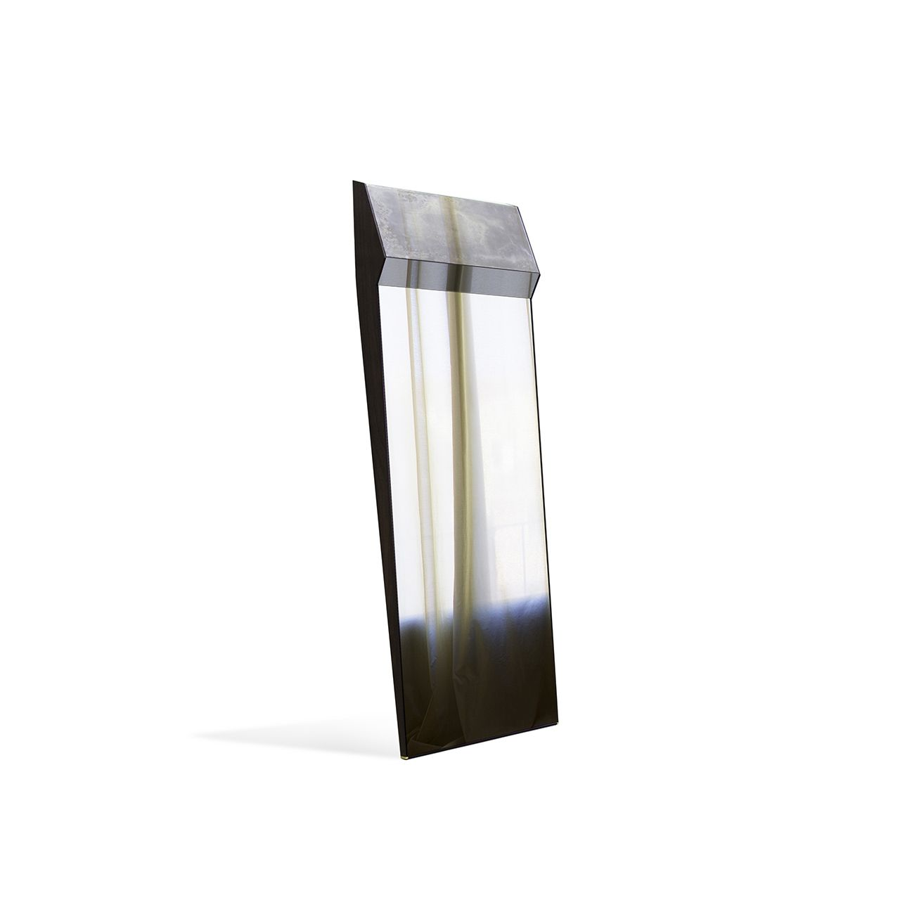 Mirror With Front Side Composed Of A Combination Of Different  # Meble Narcisse