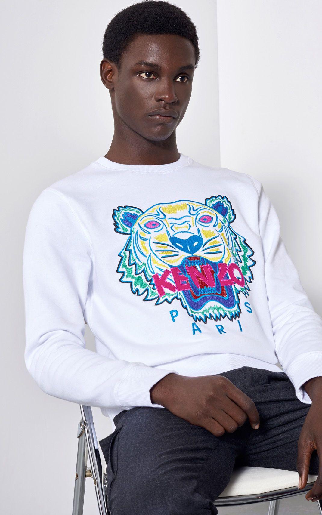61dffb2d Tiger Sweatshirt for Men Kenzo   Kenzo.com   Kenzo in 2019   Kenzo ...