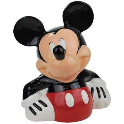 Disney Mickey Mouse Ceramic Cookie Jar 19546 Westland Giftware New | eBay