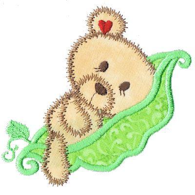 PEAPODBABES01_Kreative Kiwi   Embroidery Designs   Pinterest ...