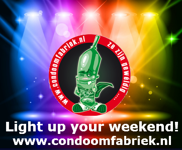 Light up your weekend! Glow in the Dark Condoms!