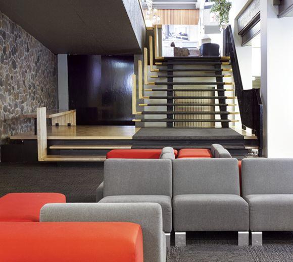 Lemaymichaud interior design architecture quebec for Design hotel quebec