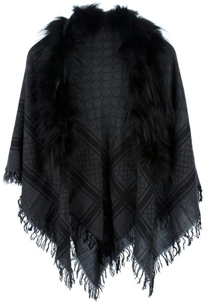 292c0b3043d Gucci Fur Scarf... have this in brown. Best scarf ever.