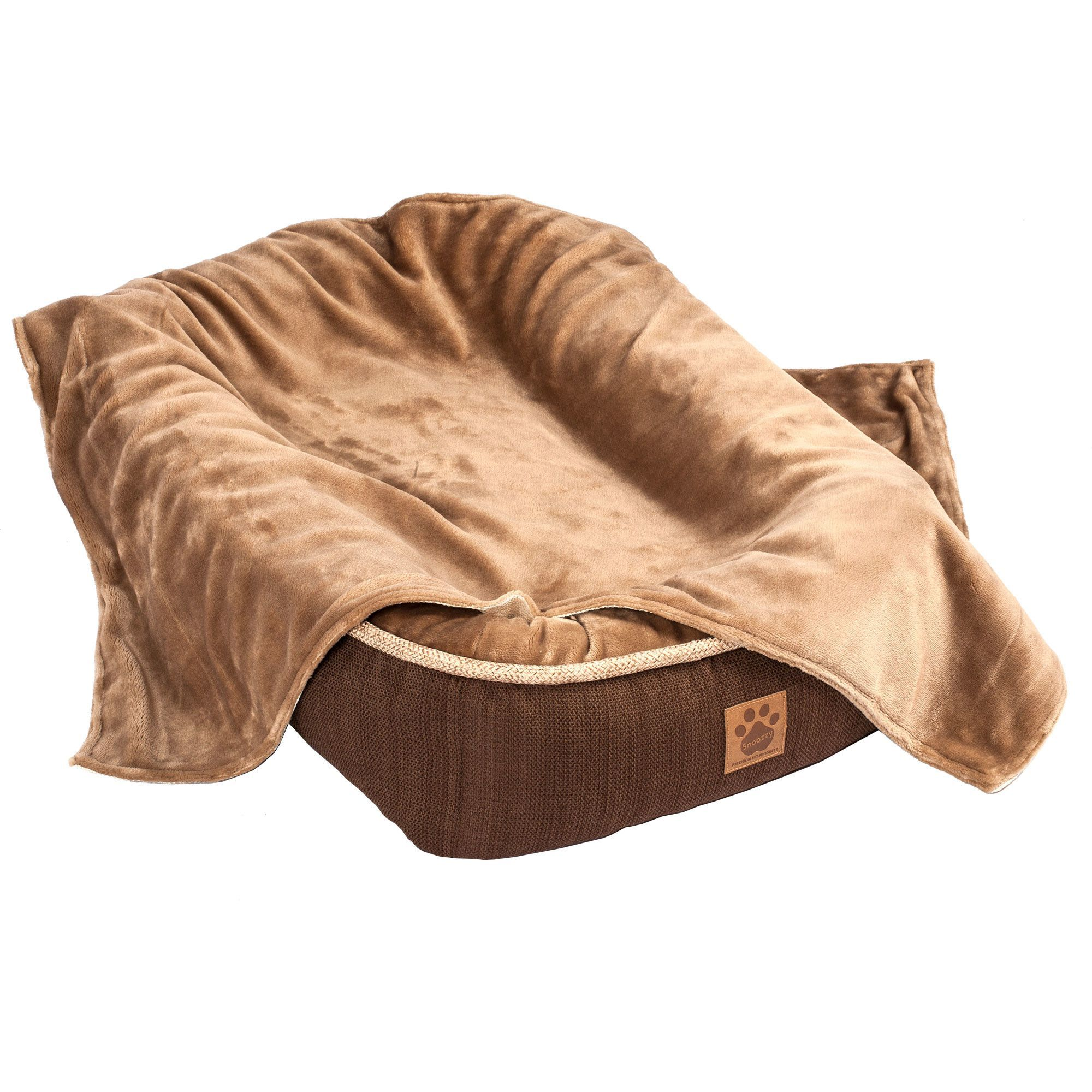 Snoozzy reversible plush blanket products pinterest dog bed