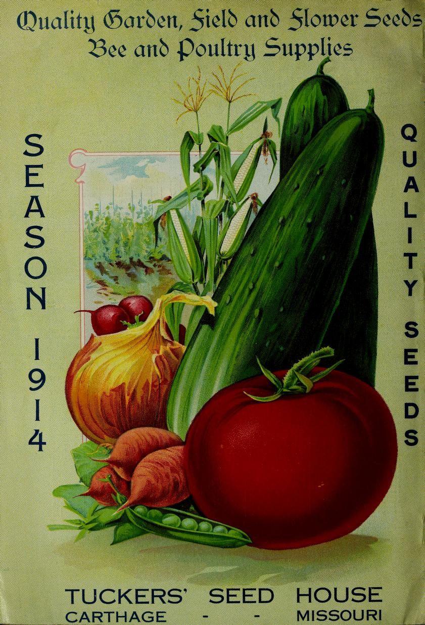 Tuckers' seed annual : season 1914