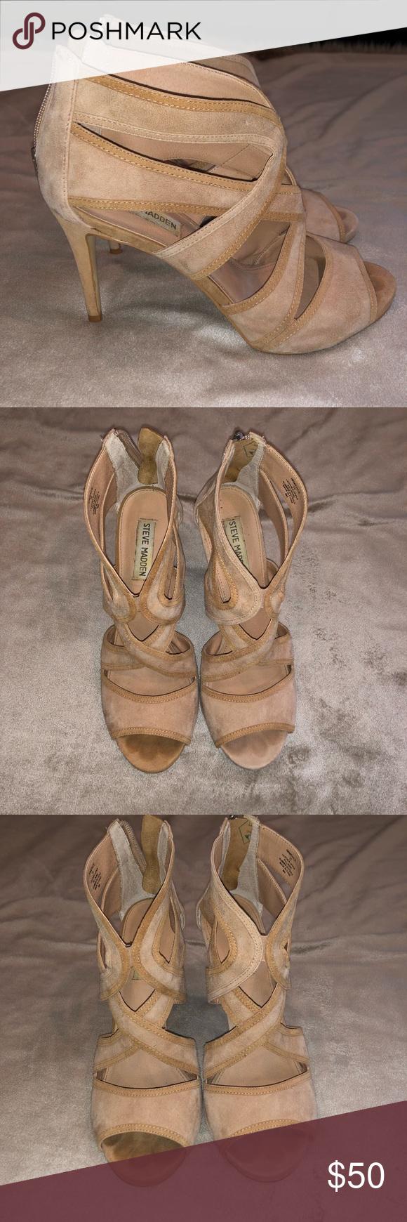 e2c5868bbb5 Steve Madden Immense Suede Heels Gently worn Steve Madden Suede heels.  Still in good condition