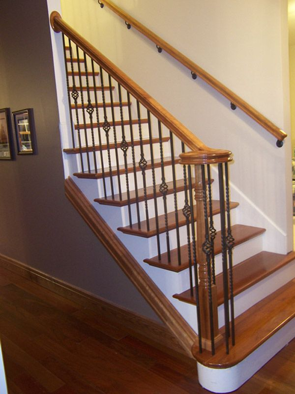 Best Example Of Railing Going Into A Wall With Second Railing 400 x 300