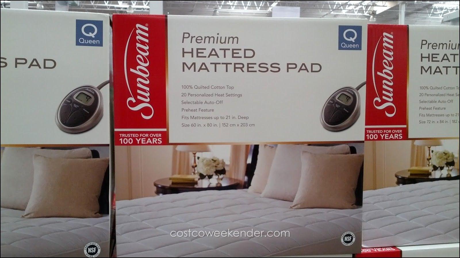 Costco Mattress Topper Heated Pad R