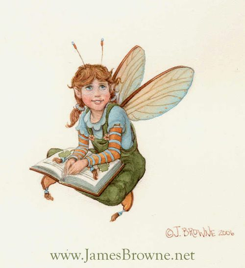 Book Household Fairy by yaamas.deviantart.com on @DeviantArt