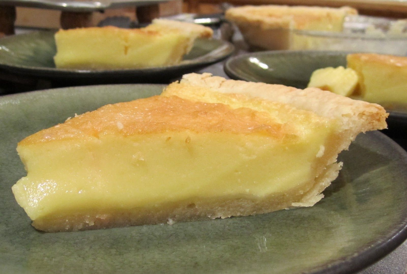 Old-fashioned Cooking: Buttermilk Pie