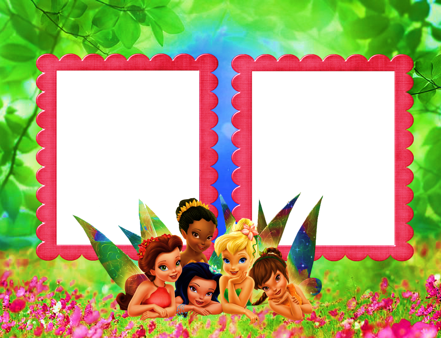 Fairy Frame Transparent Tinkerbell Fairies Tinkerbell Printable Stationery
