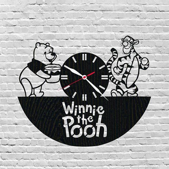 Ni os habitaci n decoraci n winnie el pooh pooh reloj - Habitacion winnie the pooh ...