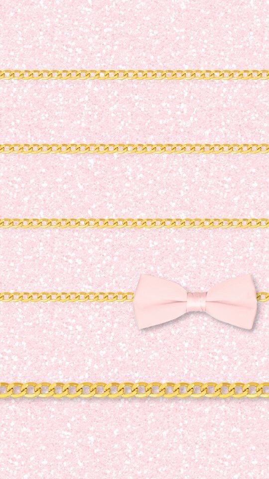 Pink Girly Glitter Ribbon Gold Iphone Wallpaper Home Screen Iphone Wallpaper Themes Gold Wallpaper Iphone Iphone Wallpaper Glitter