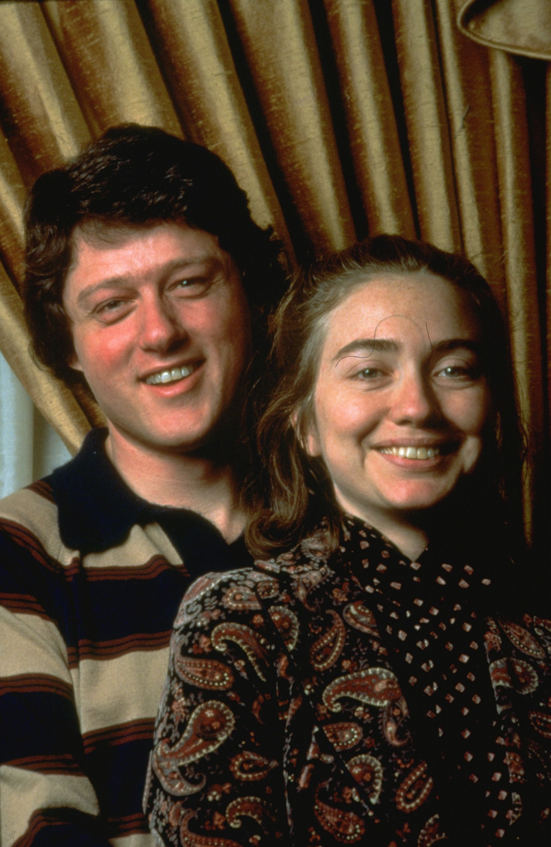 Bill and hillary met in 1972 while both were studying law at yale university both worked on george mcgovern s 1972 presidential campaign