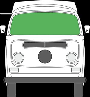 VW T2 Windschutzscheibe (mit Bildern