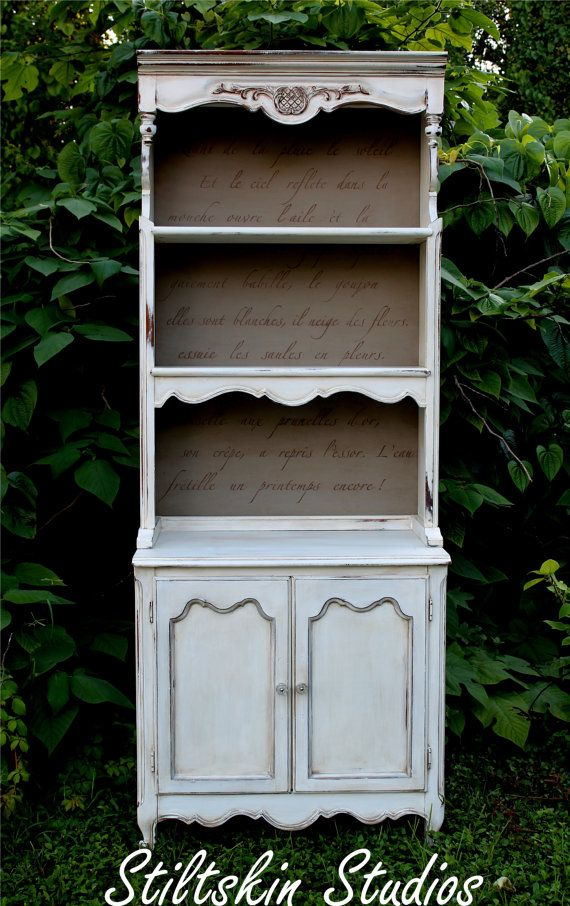 Gustavian Collection French Poem Bookcase
