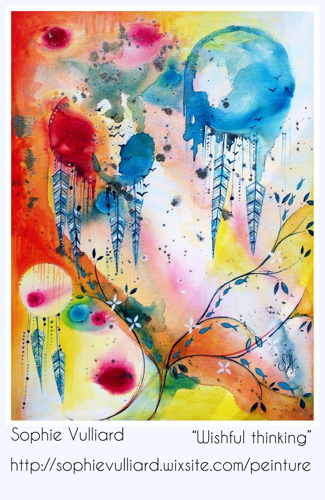 Sophie Vulliard Intuitive Painting Peinture Intuitive Peinture