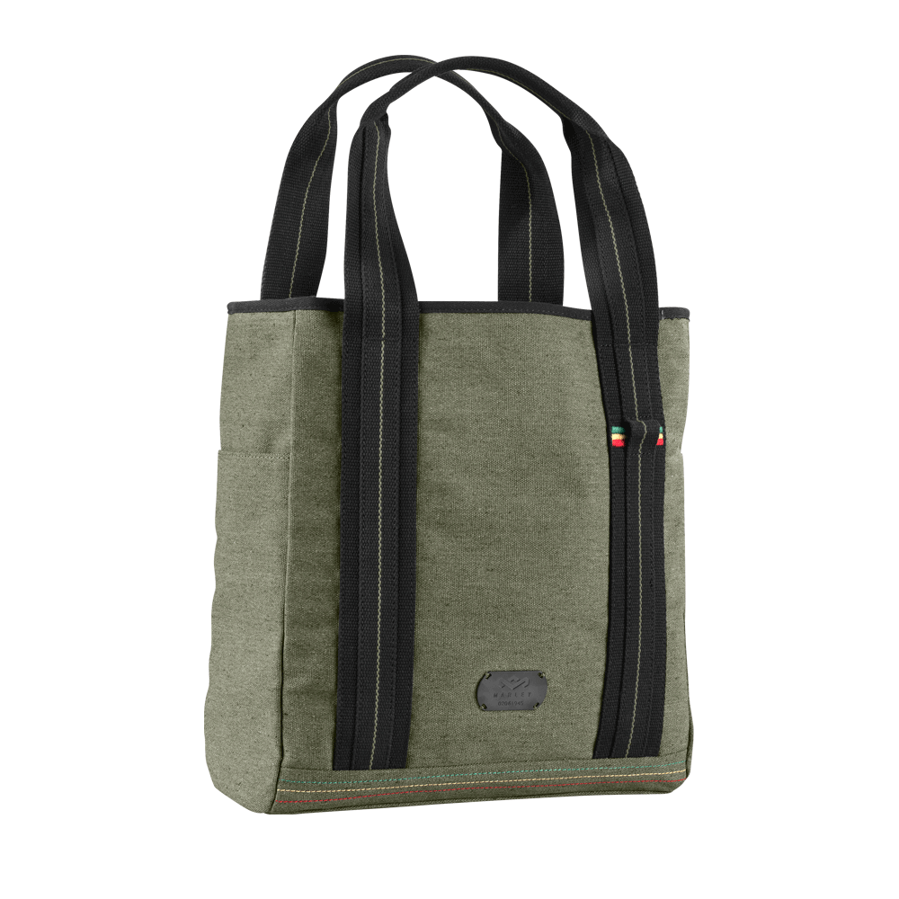 School bag riddim zip - Lovin This Bag House Of Marley Lively Up Small Tote Bag In Military