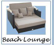 Liegeinsel beach lounge  Strandkorb Liegeinsel BEACH LOUNGE Garten Möbel Liege Sonneninsel ...