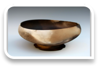 Smokefired Ovoid Bowl (created by Wee Hong Ling)