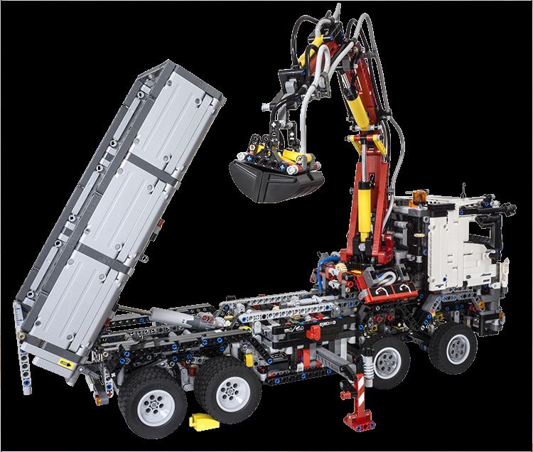 Review LEGO Technic 42043 Mercedes Benz Arocs 3245   Lego