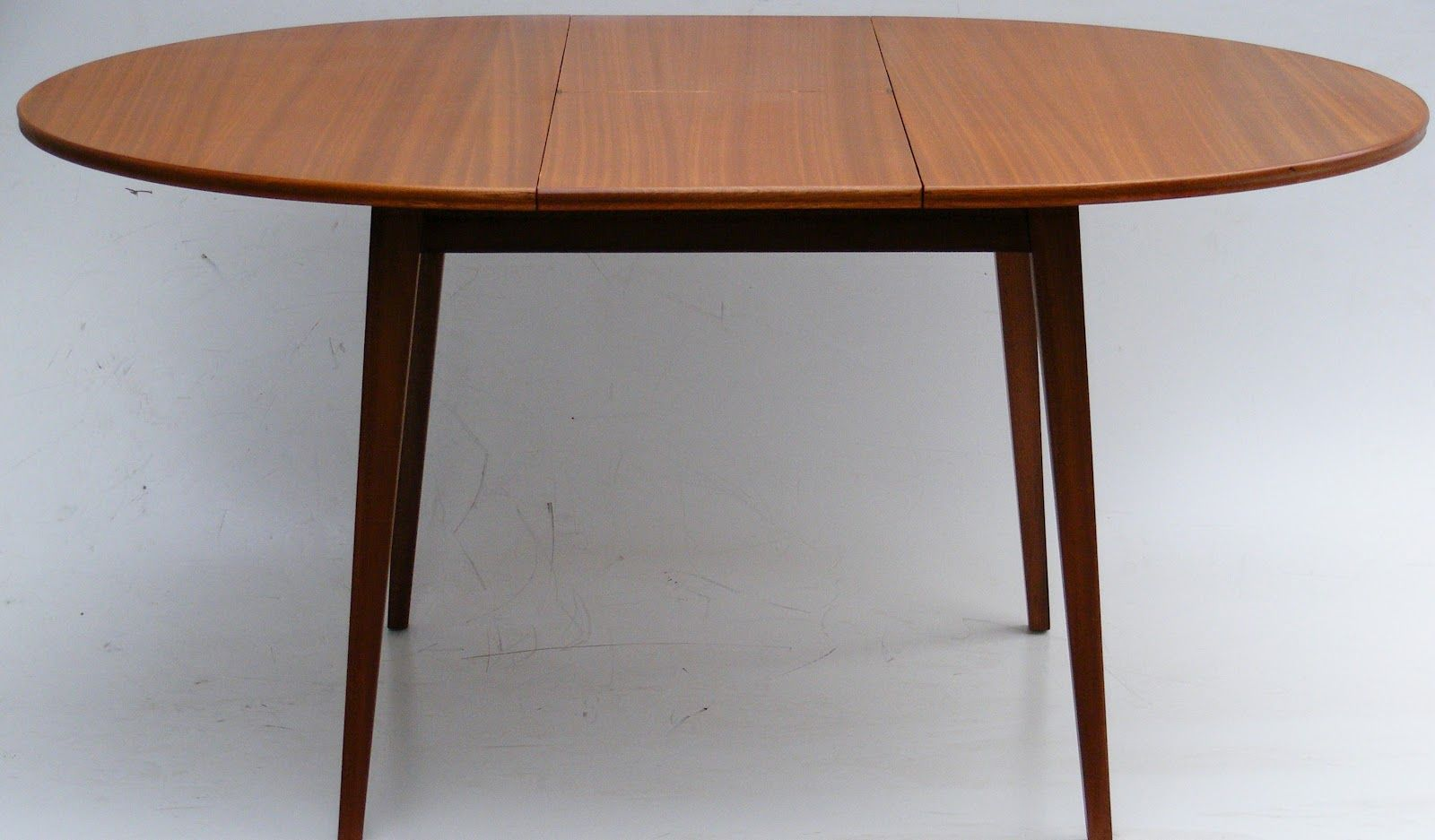Oak Round Dining Table Extendable