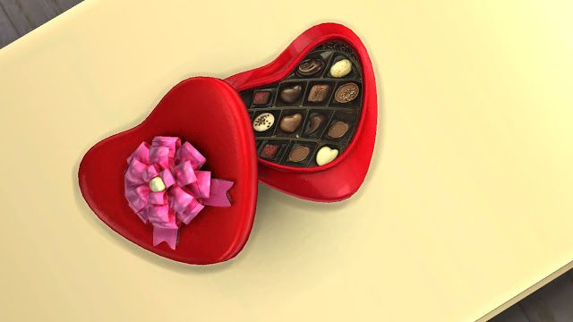 Sims 4 Custom Content Cc Download Valentine S Day Gift Set Sims 4 Custom Content Sims 4 Sims