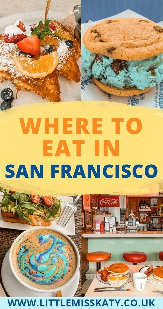 Photo of Where to Eat in San Francisco (with colour-coded map!)