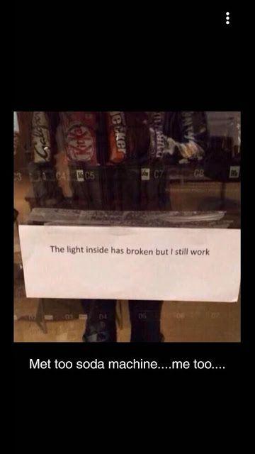 The Light Inside Is Broken But I Still Work