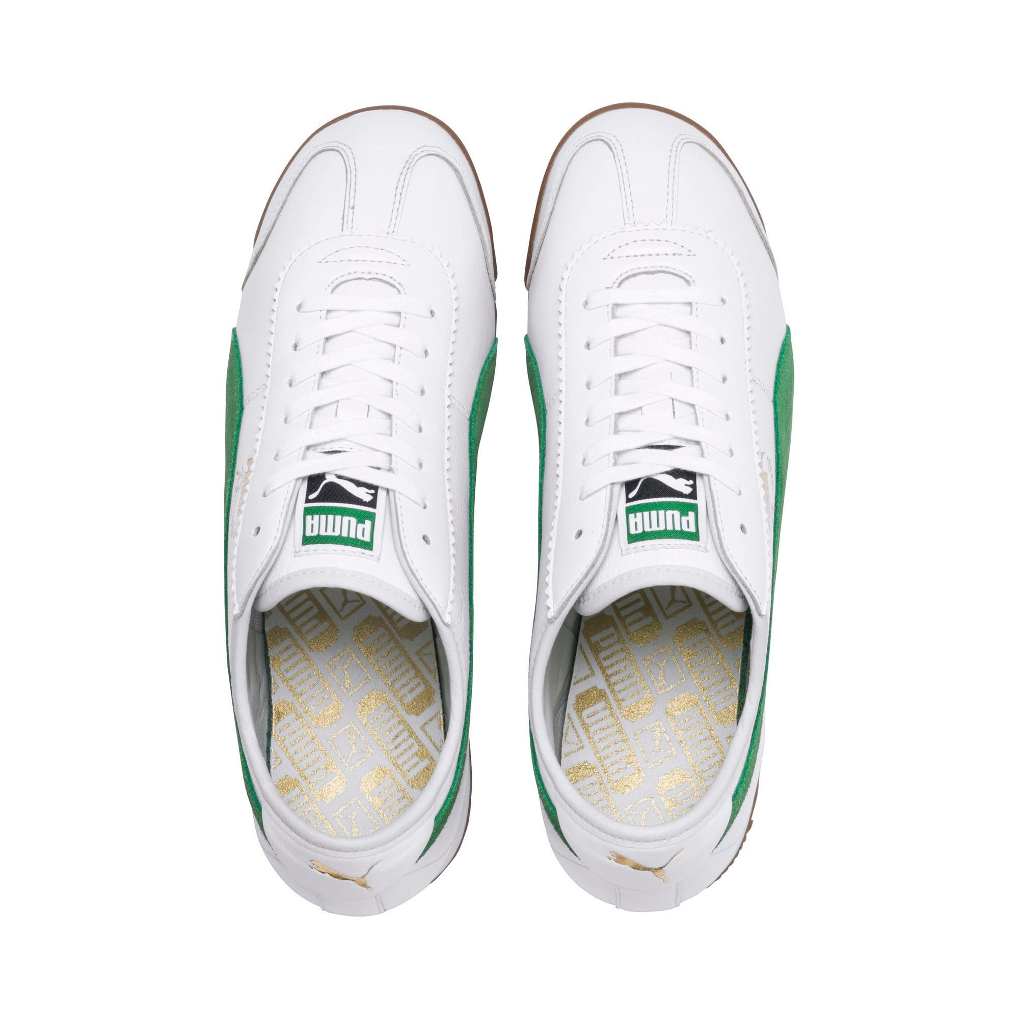 PUMA Chaussure Basket Roma '68 OG pour Homme, BlancVert