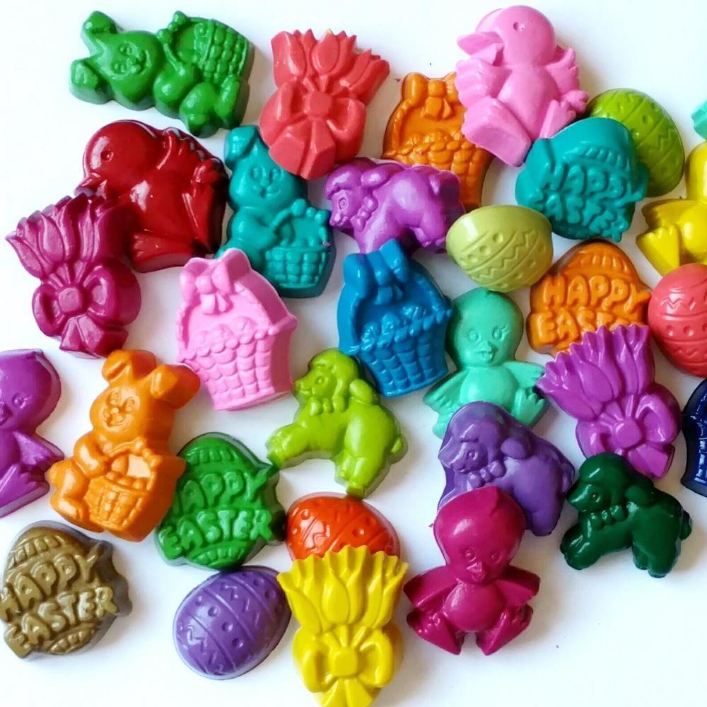 Easter crayons set of 20 easter basket gift sugarfree easter easter crayons set of 20 easter basket gift sugarfree easter easter party favors negle Gallery