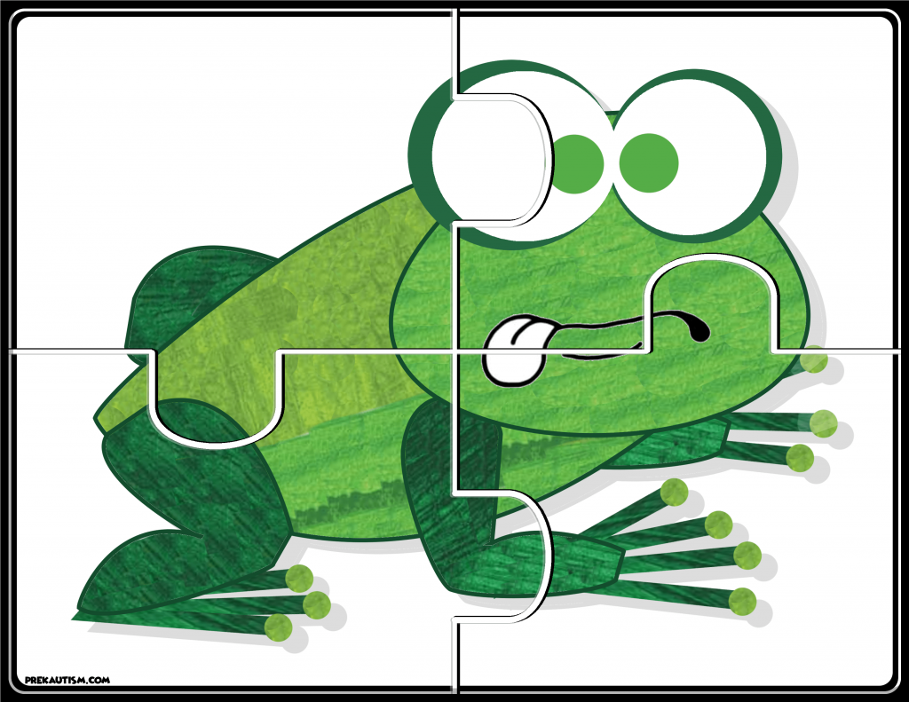 - Brown Bear #1-5 Puzzles Brown Bear, Preschool Math Printables