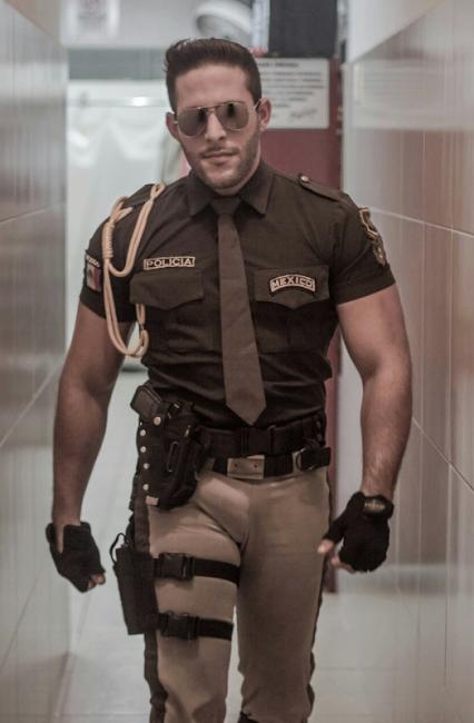 Gay uniform blog