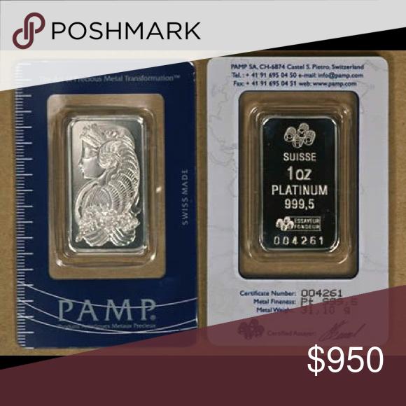 1 Oz Platinum Bars For Sale Bullion Platinum Palladium
