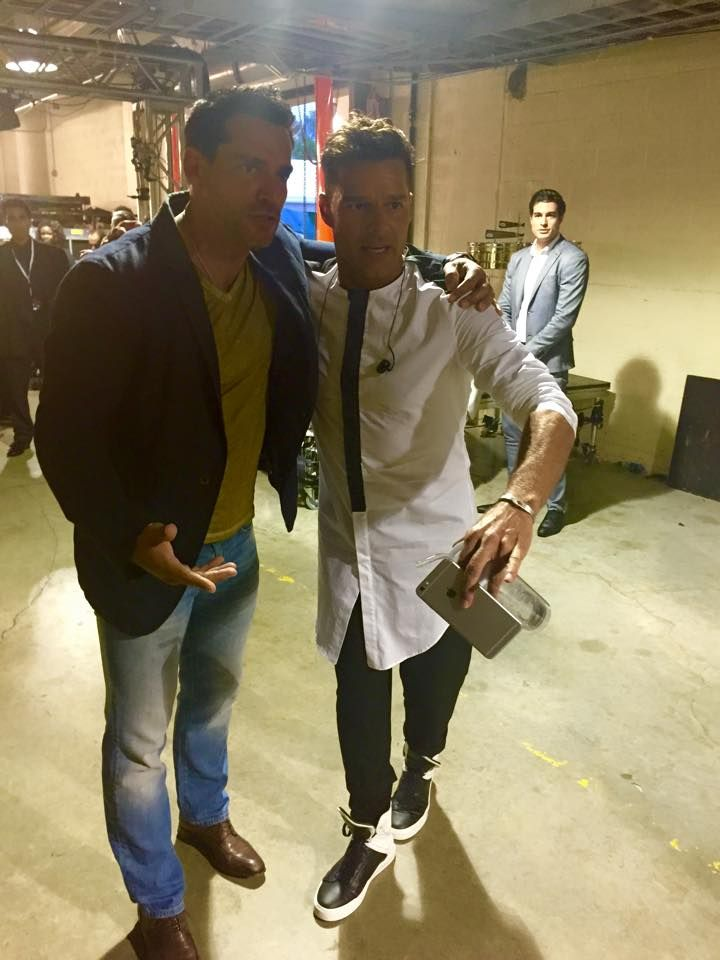 Ricky Martin, and Christian De La Fuente.