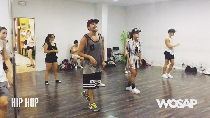 Clase de HIP HOP del Summer Dance