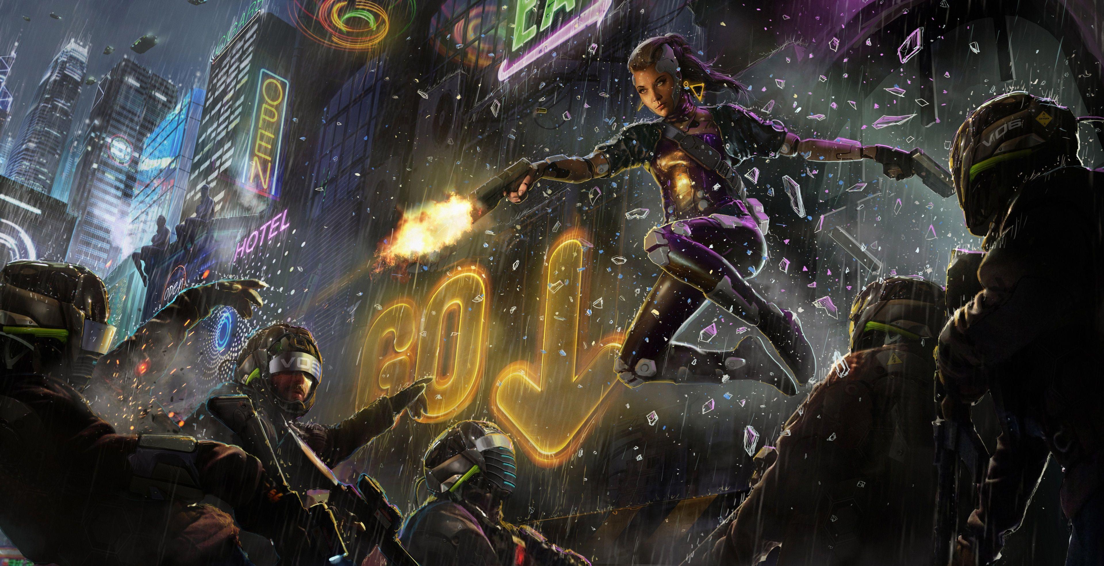 3840x1971 Scifi 4k Wallpaper Pic In 2020 Cyberpunk Art Cyberpunk Cyberpunk 2077