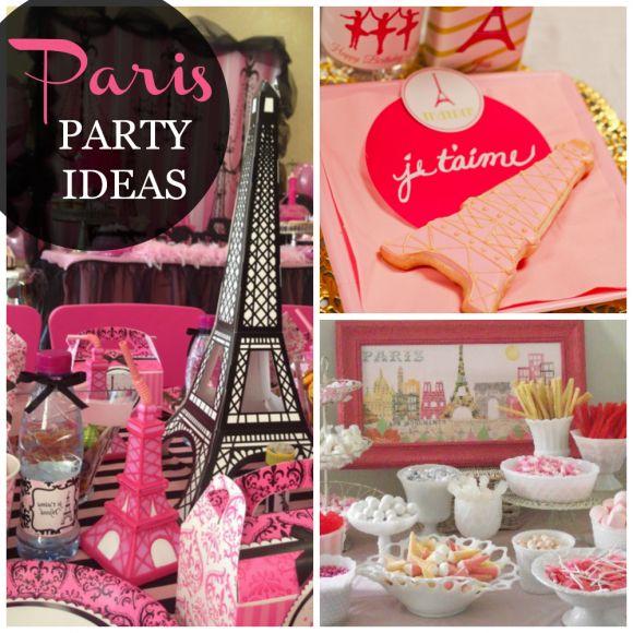 Paris party ideas Sweet 16 Pinterest - sweet 16 halloween party ideas