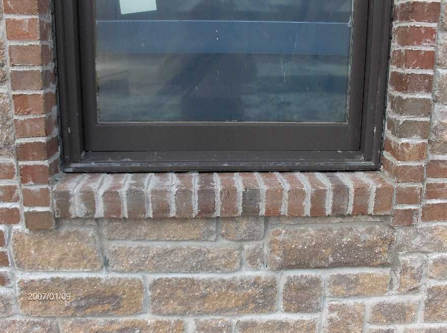 Face Brick And Stone Installation For Dan Hossack Icf House In Independence Twp Michigan Windows French Windows Brick