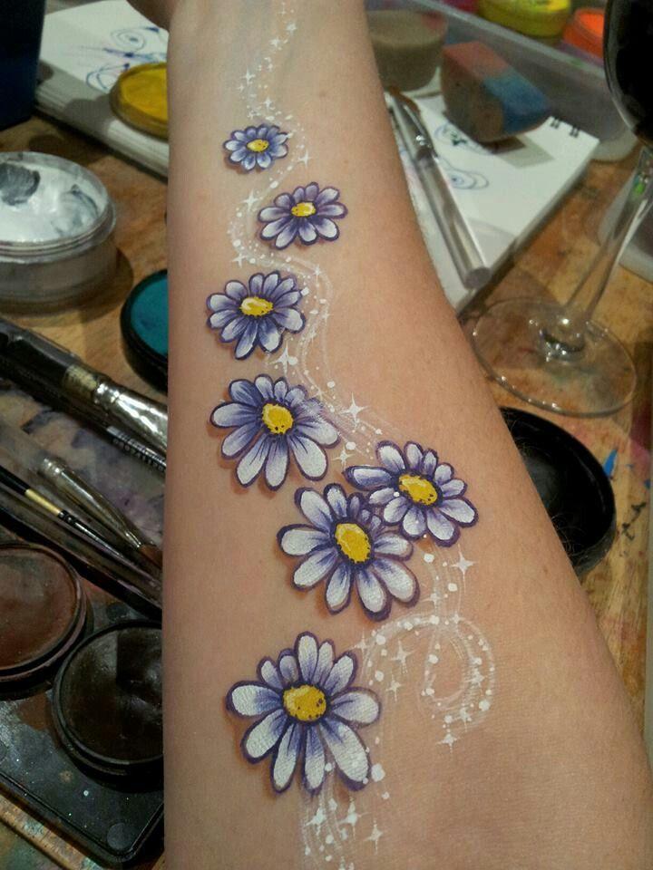 Pretty Daisy Tattoo: Kristen Oneil I Think Cute Daisies