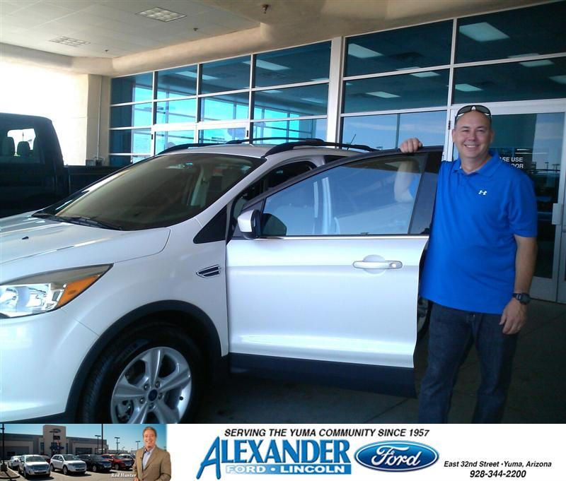 Congratulations To Christopher Chaffin On Your Ford Escape