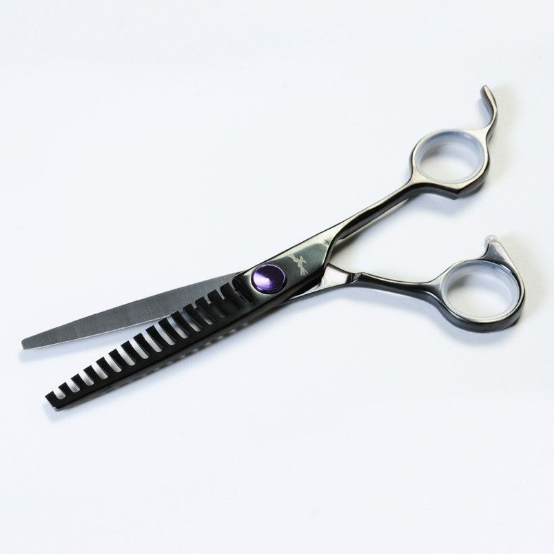 Scissorhands Carbon 15 Tooth Hairdressers Layering Scissors. This concept  is the cornerstone of layering scissors 7410a7f3c