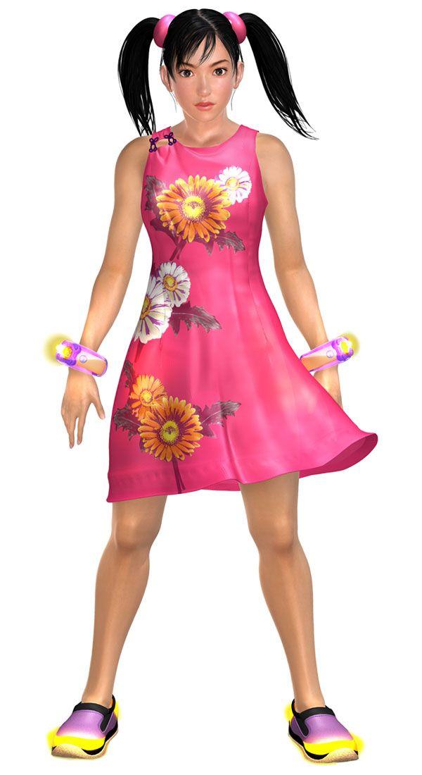 Ling Xiaoyu Characters Art Tekken 4 Concept Art Gallery Art Gallery Tekken 4