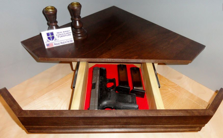 Secret Compartment Gun Shelf By Nj Concealment Furniture 1