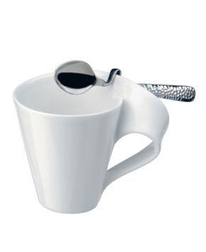 New Wave Caffe Espresso Spoon Silver In 2020 Spoon Collection Villeroy Boch Caffe Espresso