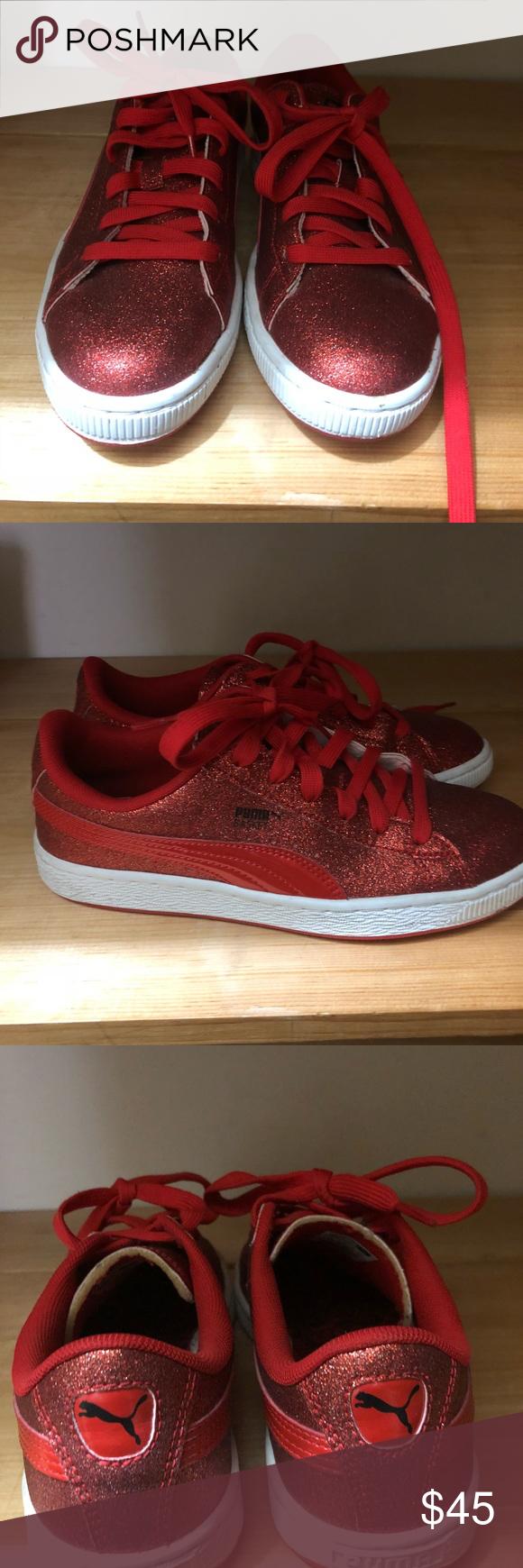 Puma Sneakers Red glitter puma Puma