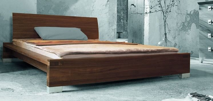 Best Contemporary Solid Wood Double Bed Sonlado Zack 400 x 300
