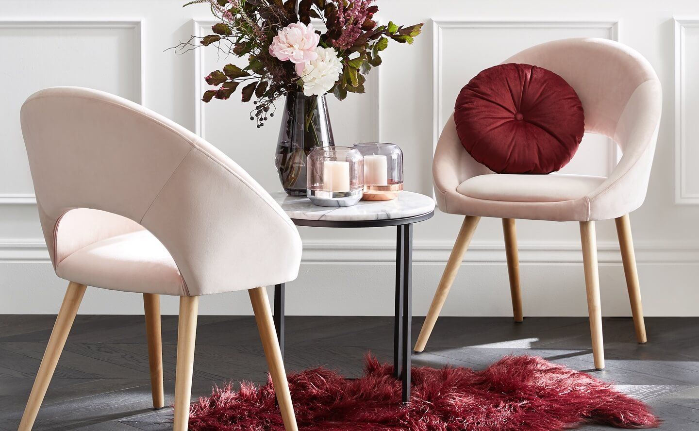 Fab Finds The Kmart Velvet Occasional Chair in 2020
