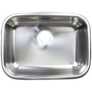 kindred collection undermount stainless steel 23 6 in single bowl rh pinterest co uk