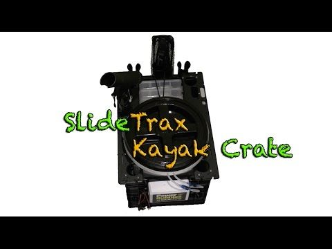 Custom SlideTrax Crate Build for Kayak Fishing & More